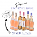 Delicious Provence Rosé Mixed 6-Pack