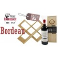 Chateau Troupian Wine Rack Gift Pack